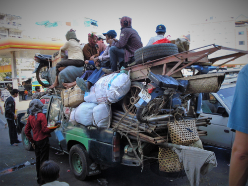 verhuizen met veel spullen