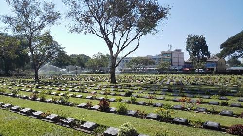 Kanchanaburi begraafplaats