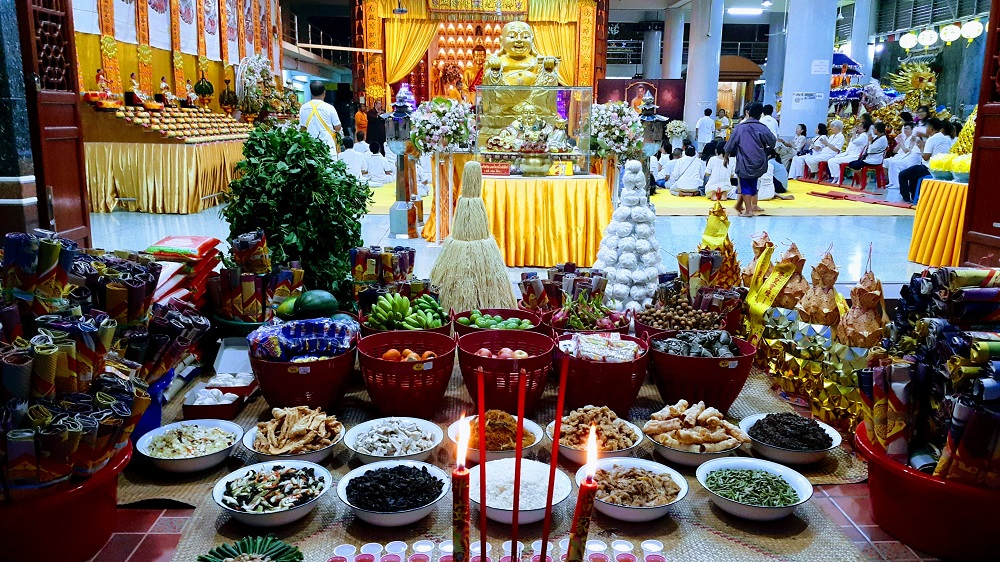 vegetarisch festival in Hat Yai