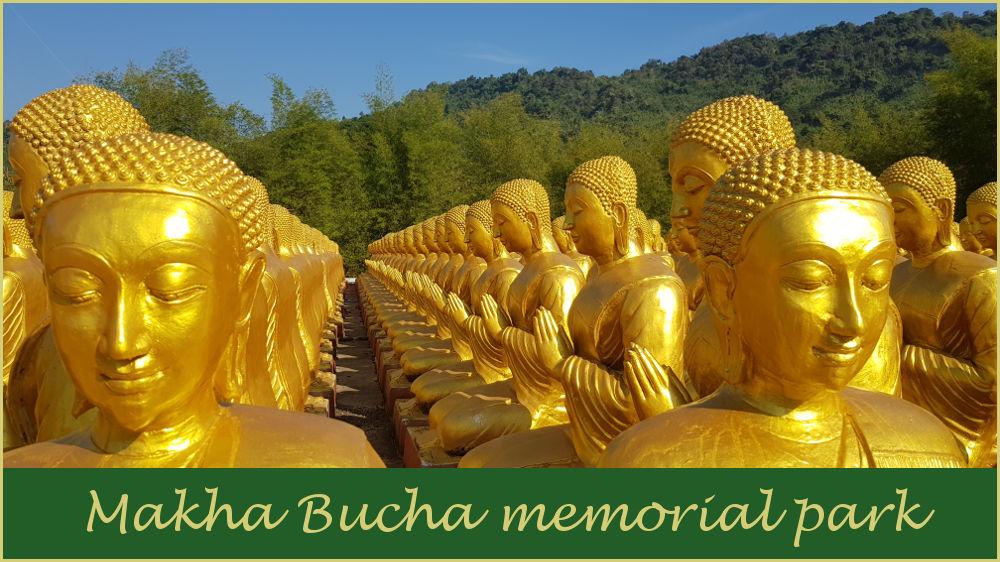 Makha Bucha memorial park