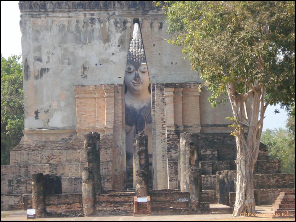grote boeddha in Sukhothai