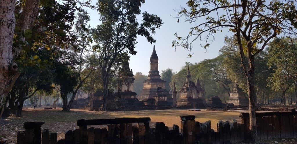 bezoek oude tempels